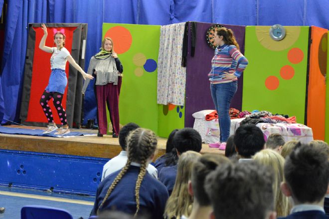 Language Theatre Visit